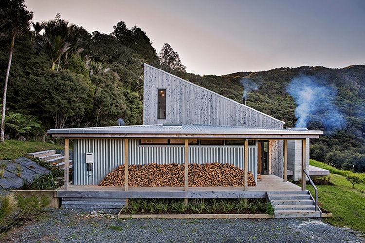 David Maurice LTD Architectural Back Country House