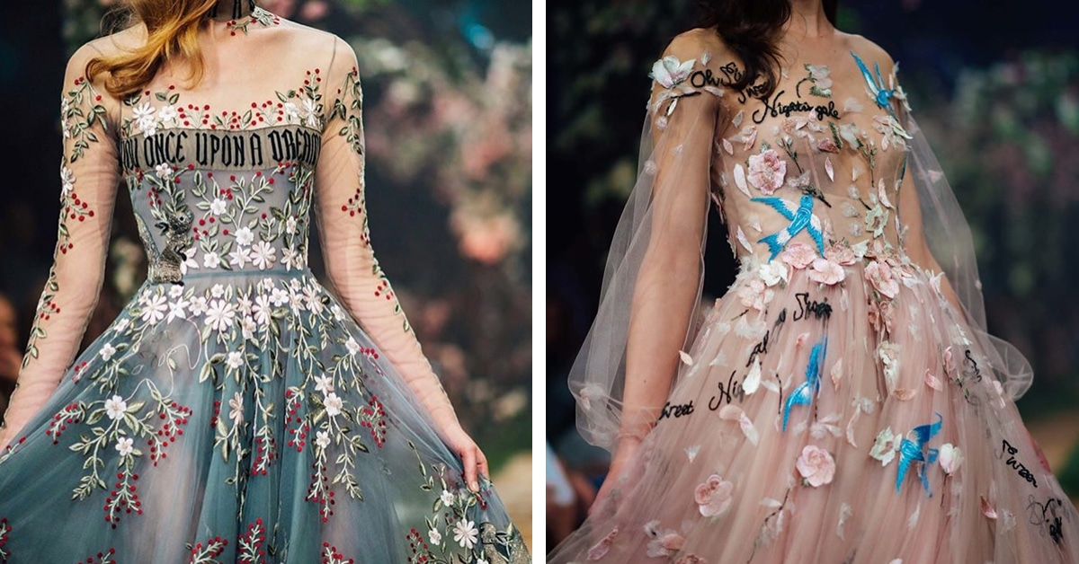 Australian Couture Label Presents Collection Of Disney