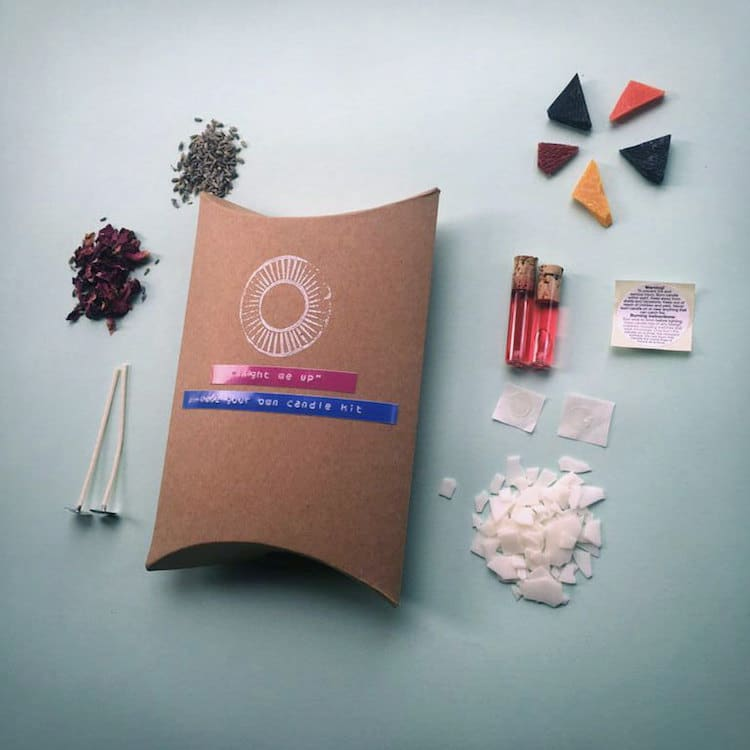 2017 Gift Guide Make Your Own Candle Kit DIY Candles
