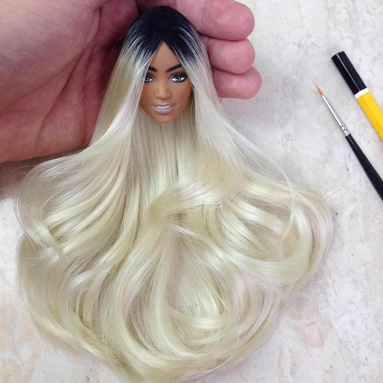 Custom Barbie Dolls by Rafinha Silva