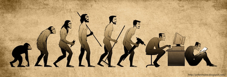evolutionary theories on origins of man
