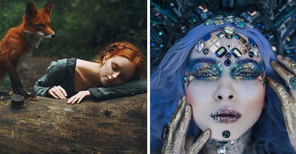 Fairytale Photography Featuring Fantastic Scenes And Fairytale - Photographer captures fairytale like portraits women animals