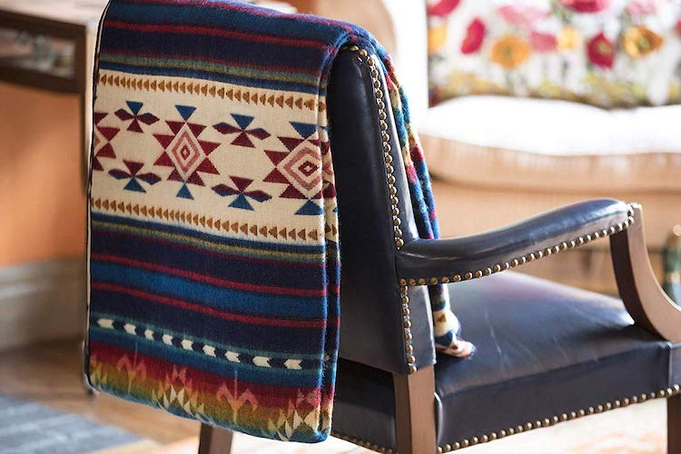 Woven Blanket from Artisans in Ecuador