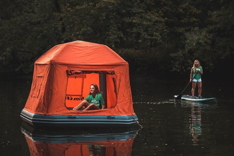 Floating Water Tent