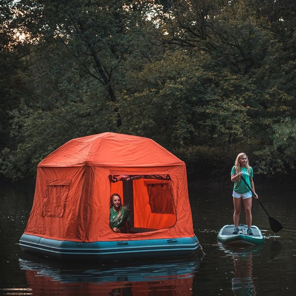 British Mpresa Develops Solar-Powered Tent And Wi-Fi