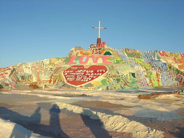 Folk Art Salvation Mountain