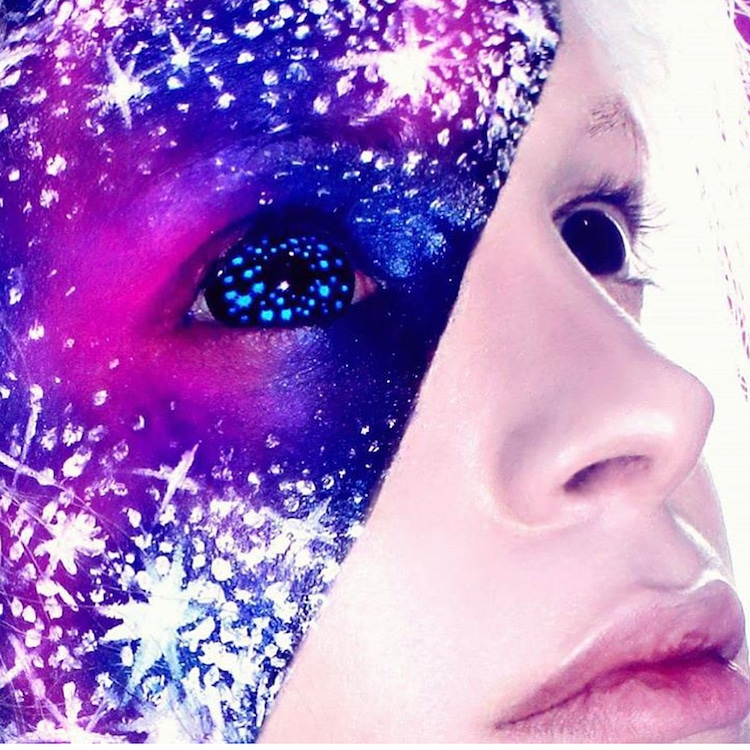 Galaxy Face Makeup
