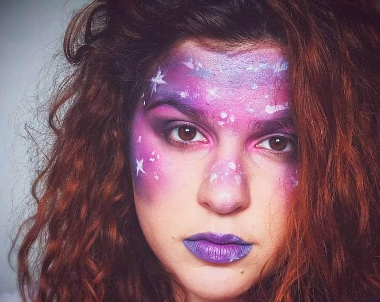 Galaxy Makeup