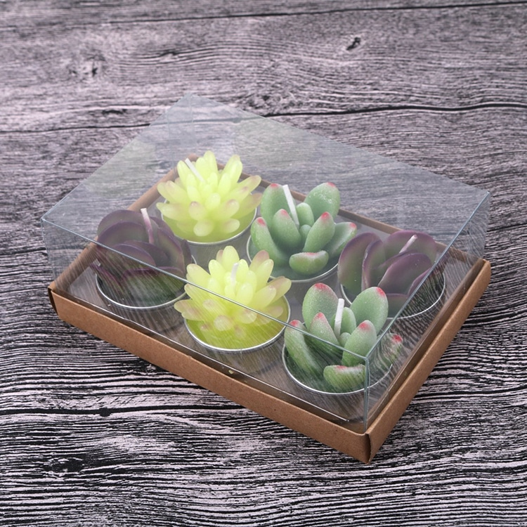 Gift Guide Handmade Delicate Cactus Candles