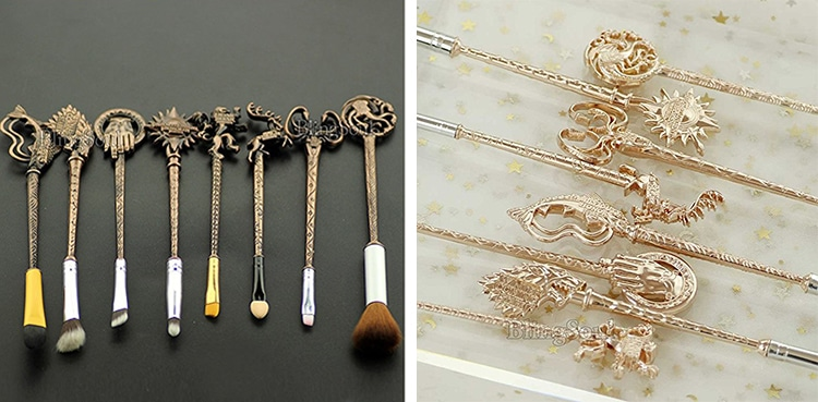 Gift Guide Game of Thrones Makeup Brushes