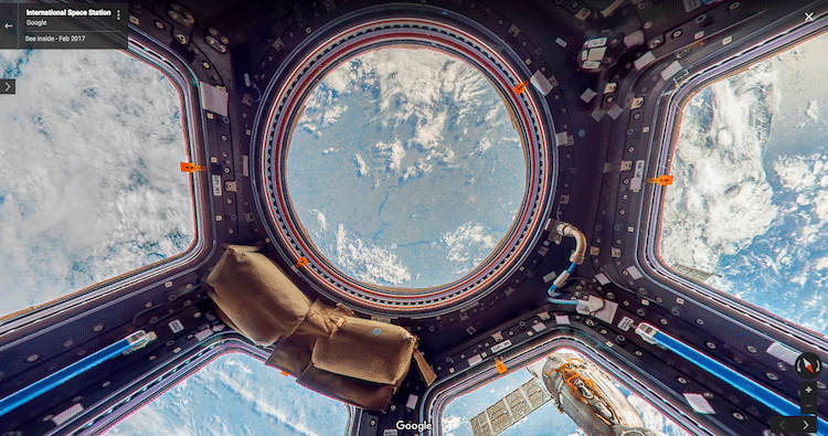 International Space Station on Google
