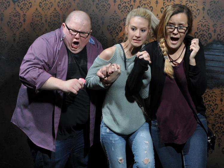 funny frightened faces nightmares fear factory