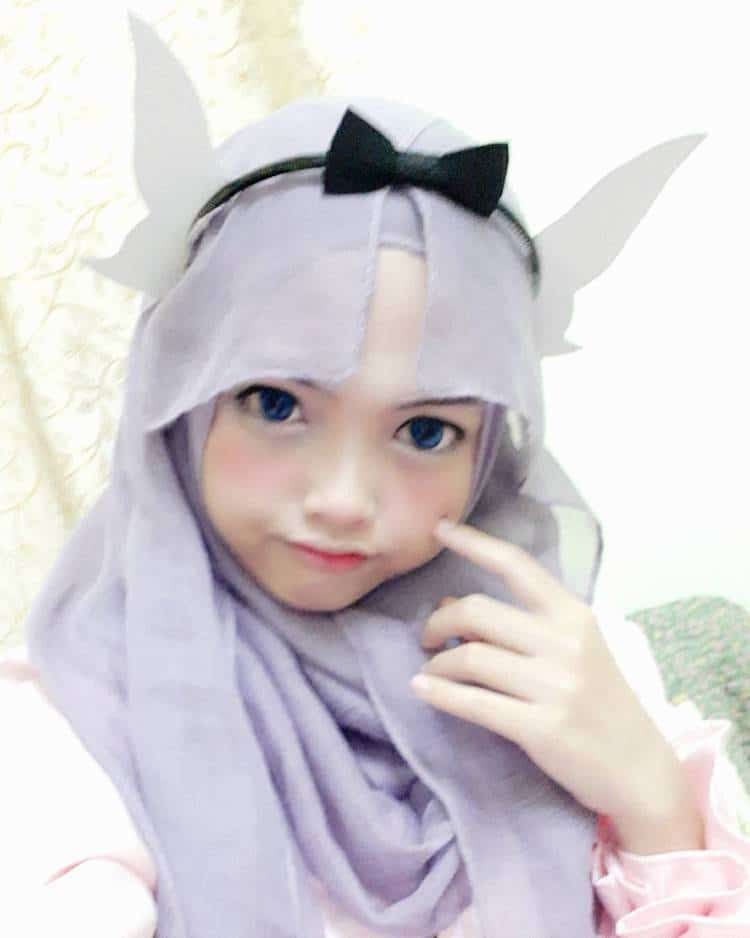 Hijab Cosplay in Anime Cosplay