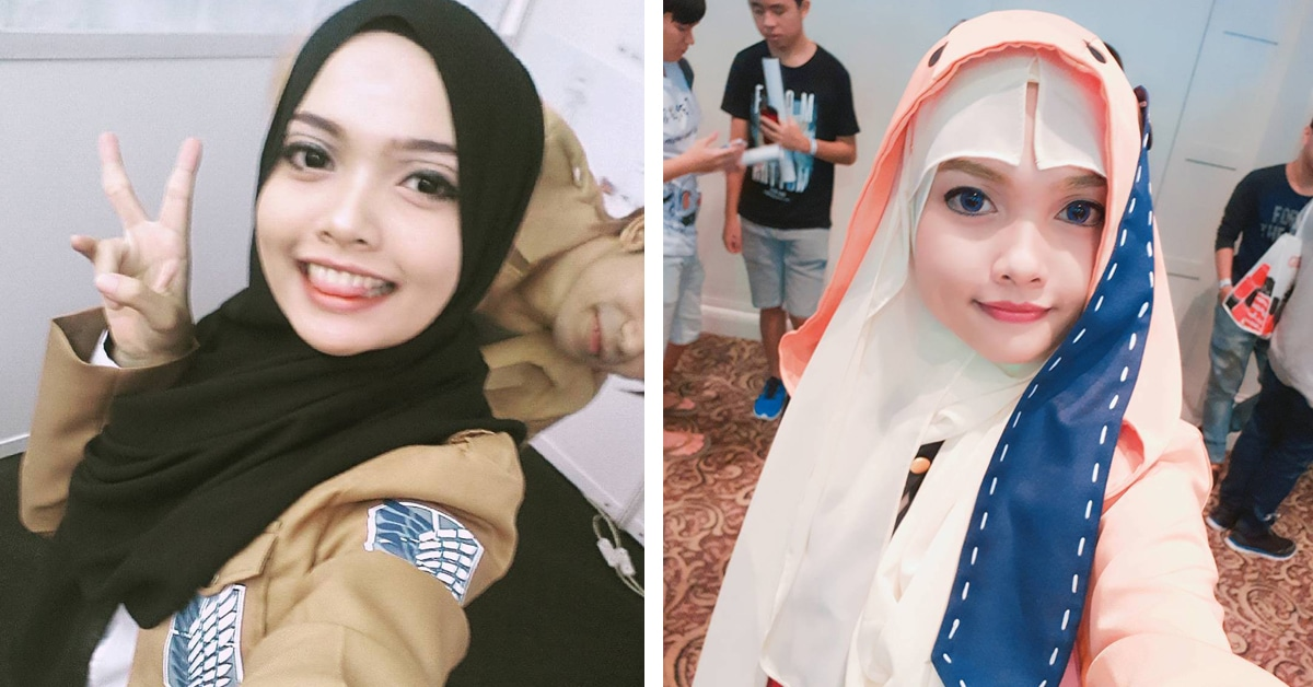 Woman Uses Her Hijab To Capture The Essence Of Anime Cosplay