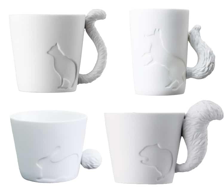 Holiday Gift Guide 2017 Animal Tail Mug