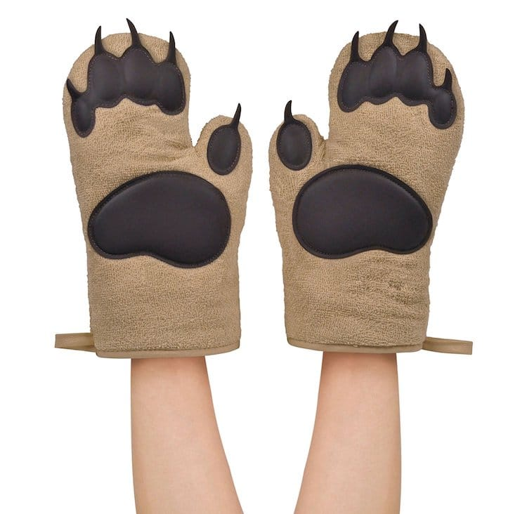 Holiday Gift Guide 2018 Bear Oven Mitts