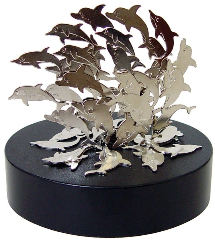 Holiday Gift Guide 2017 Magnetic Sculpture Dolphins