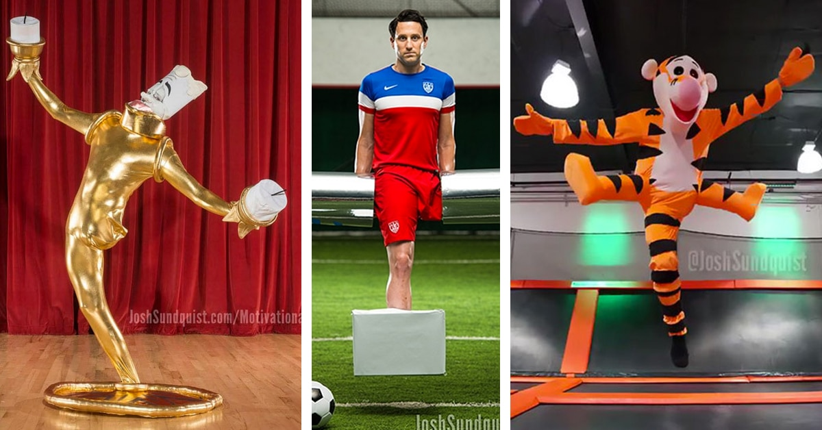 One Legged Paralympian Reveals His Halloween Costume For 2017