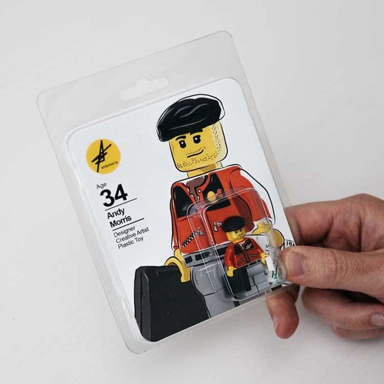 LEGO resume by Andy Morris