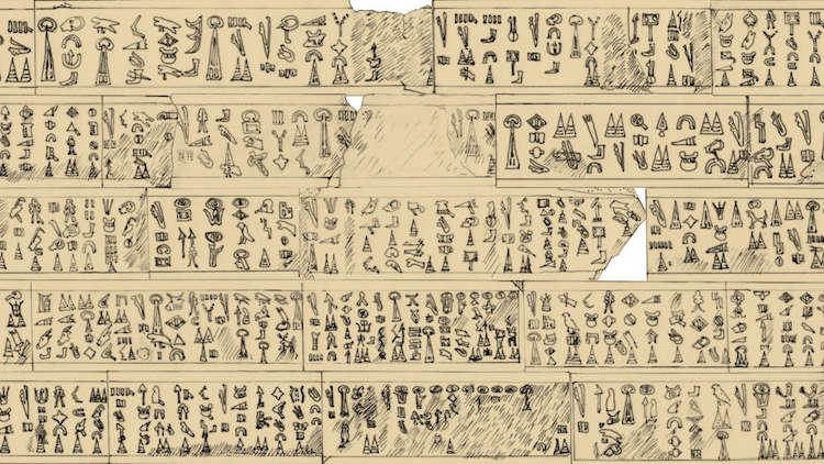 Luwian Frieze Translated Archeological Discovery