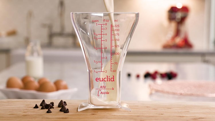 Measuring Cup Euclid by Joshua Redstone