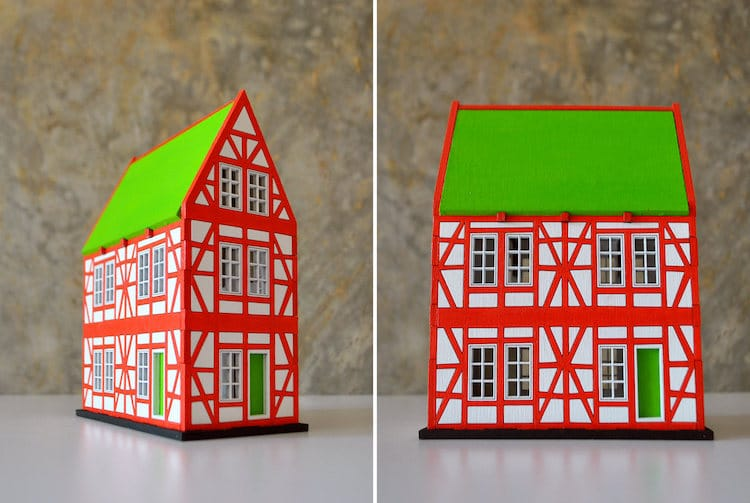 Miniature Houses by Dmitry Pokrovsky Wooduliketoo