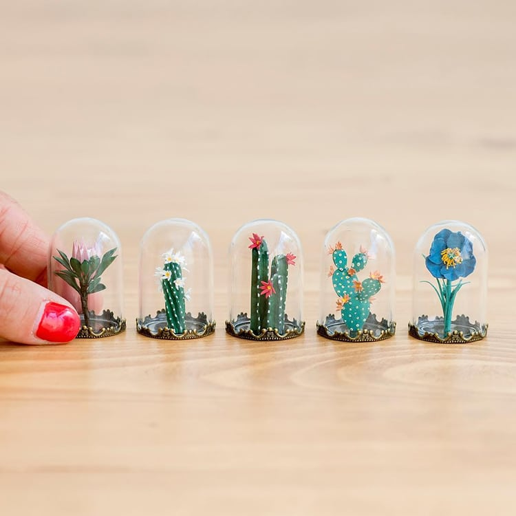 Paper Plant Sculptures Raya Sader Bujana