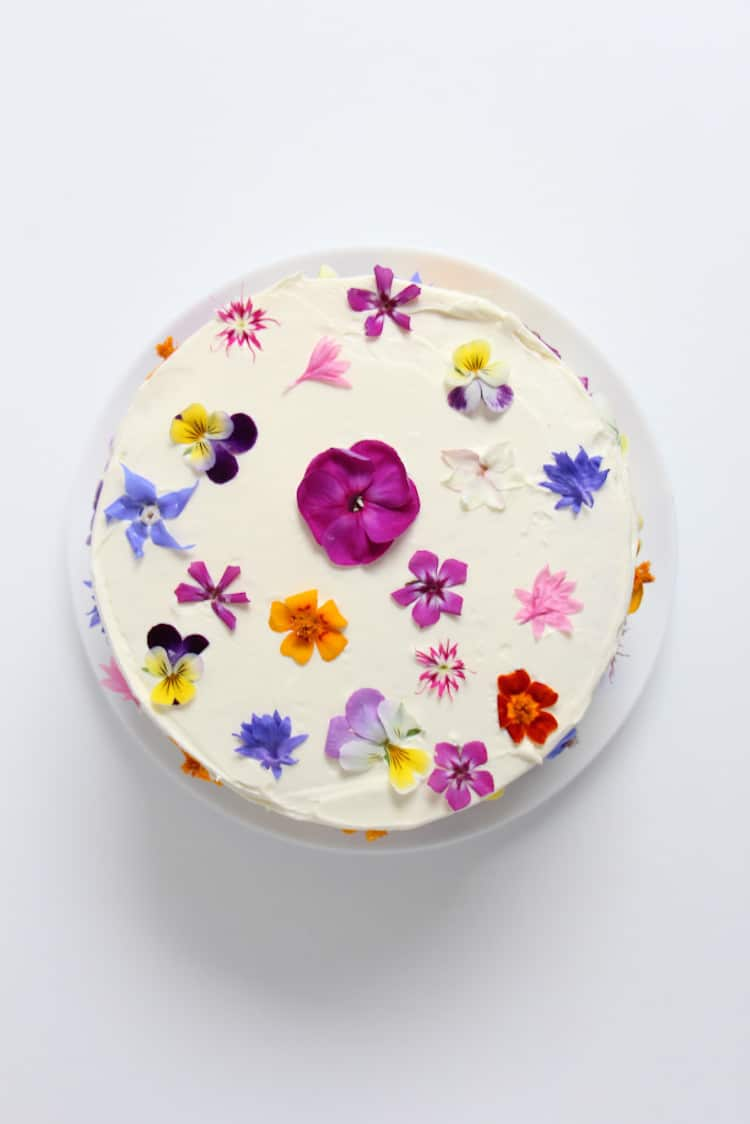 Nature-Inspired Cakes Nature Cake Flower Cake