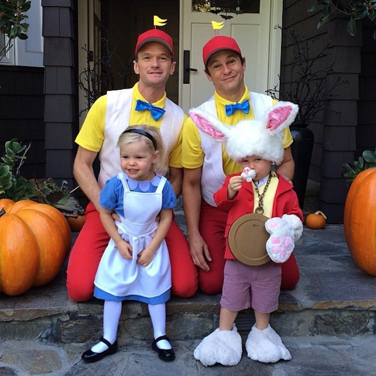 Neil Patrick Harris Halloween Costumes with His Family Win the Holiday
