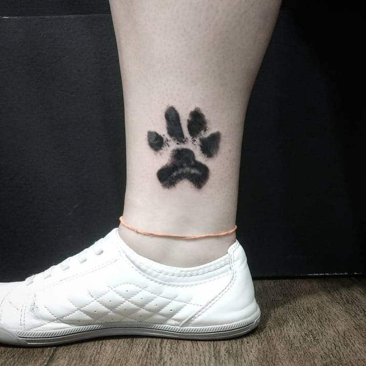 People are Branding Themselves with Dog Paw Tattoos