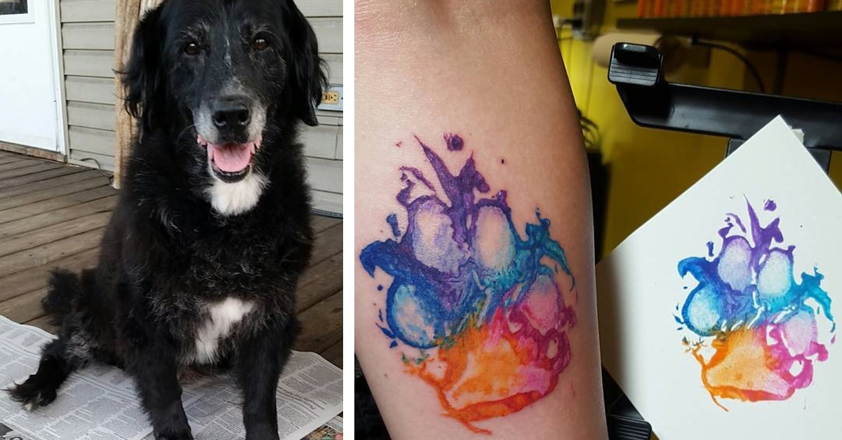 People Are Quot Branding Quot Themselves With Dog Paw Tattoos