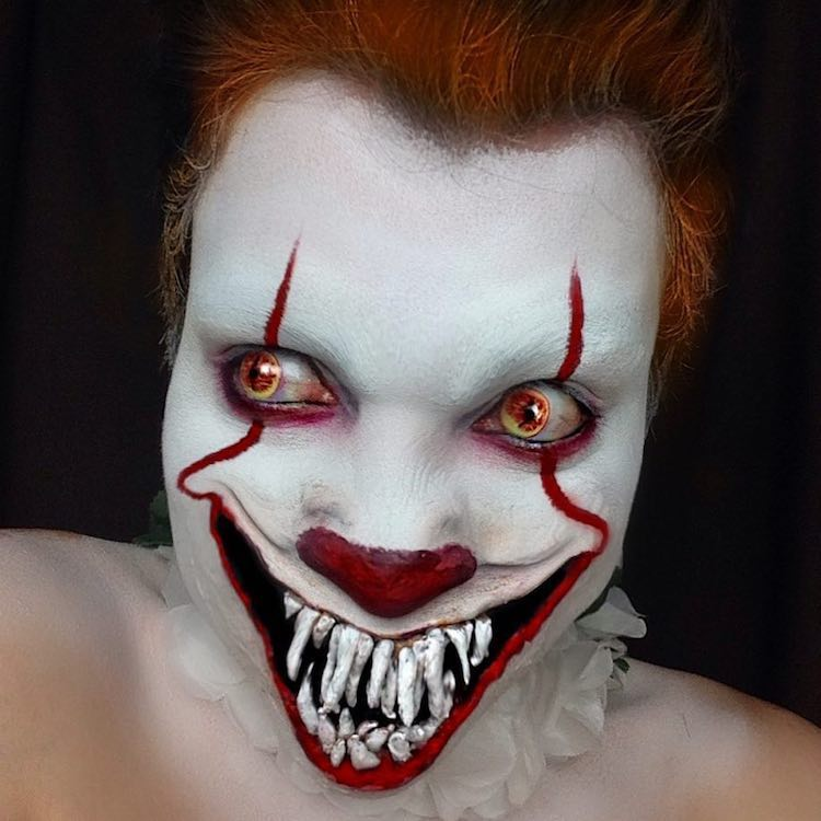 Pennywise Clown Makeup