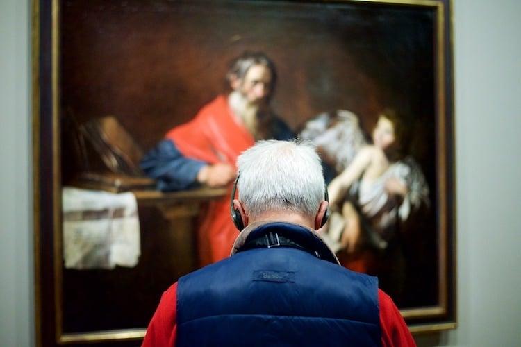 People Watching Museum Visitors by Stefan Draschan