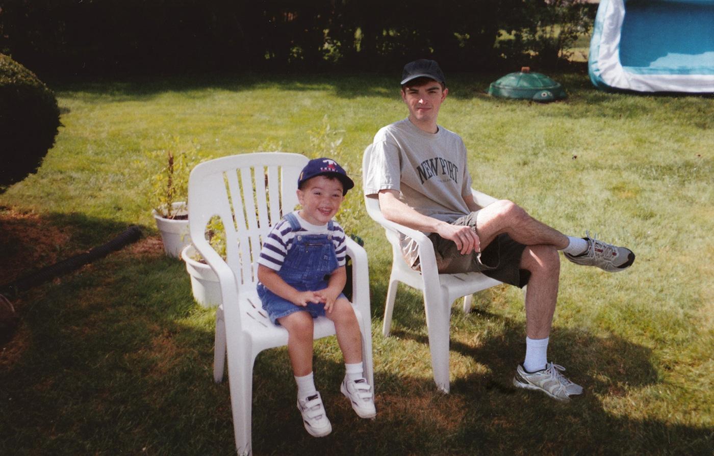 Conor Nickerson Recreating Childhood Photos