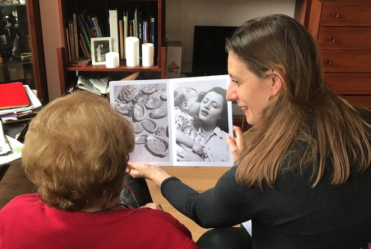 Dementia Art Therapy by Laurence Aëgerter