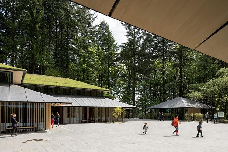 Portland Japanese Garden Cultural Village by Kengo Kuma