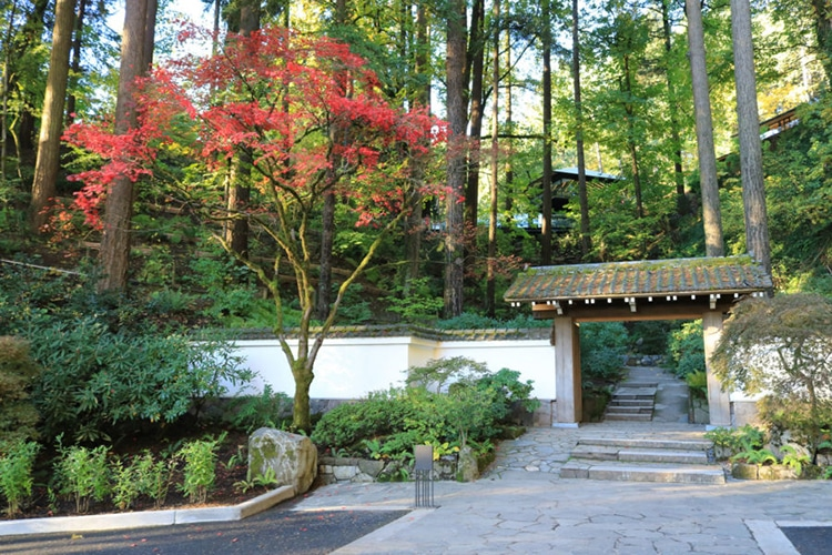 Japanese Architect Adds Cultural Village To Portland S Japanese Garden