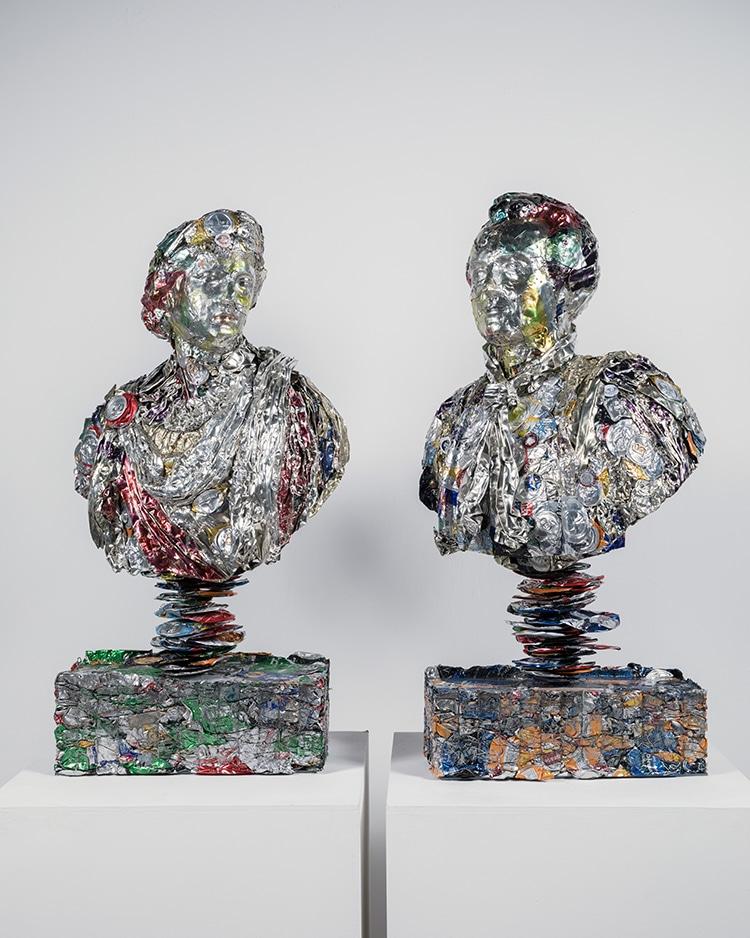 Recycled Junk Art by Ann Carrington