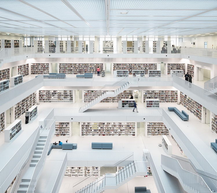 Open Space City Library Stuttgart