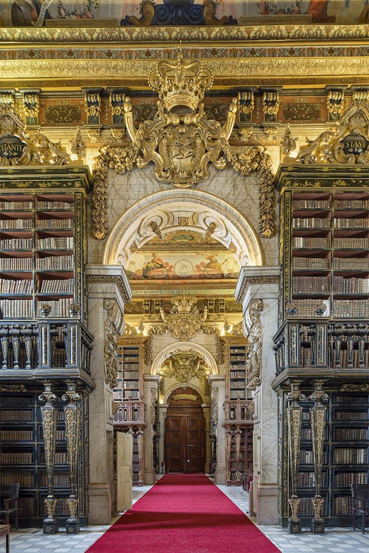 Biblioteca Joanina portugal