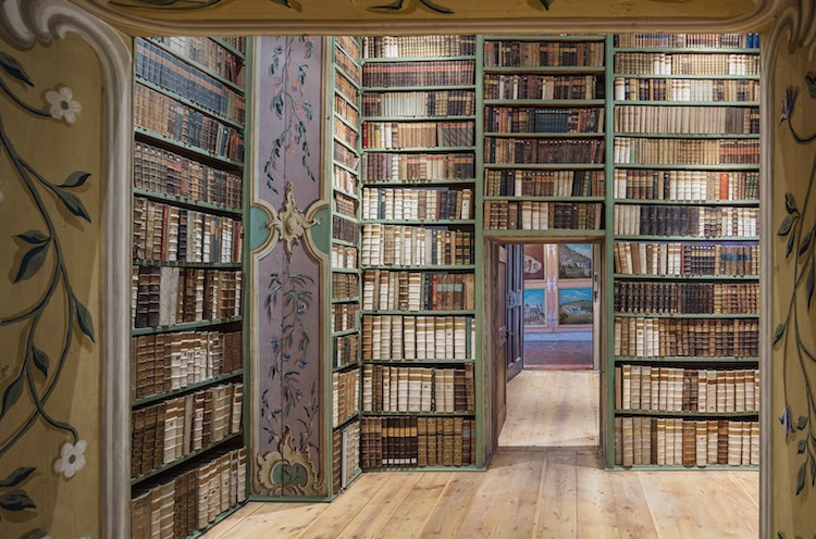 St. Peter's Abbey library austria