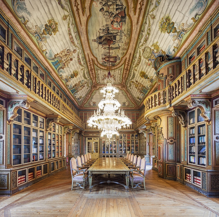 Inter Arma Charitas library portugal by reinhard gorner