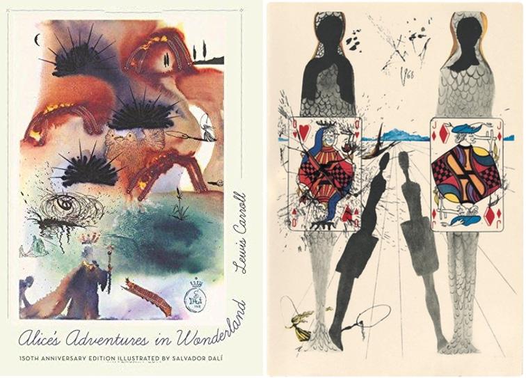 2017 gift guide Alice in Wonderland Illustrated by Dalí