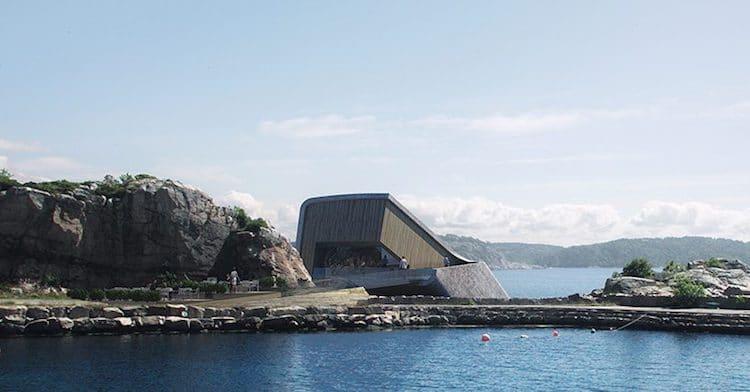 Snøhetta Underwater Restaurant in Norway