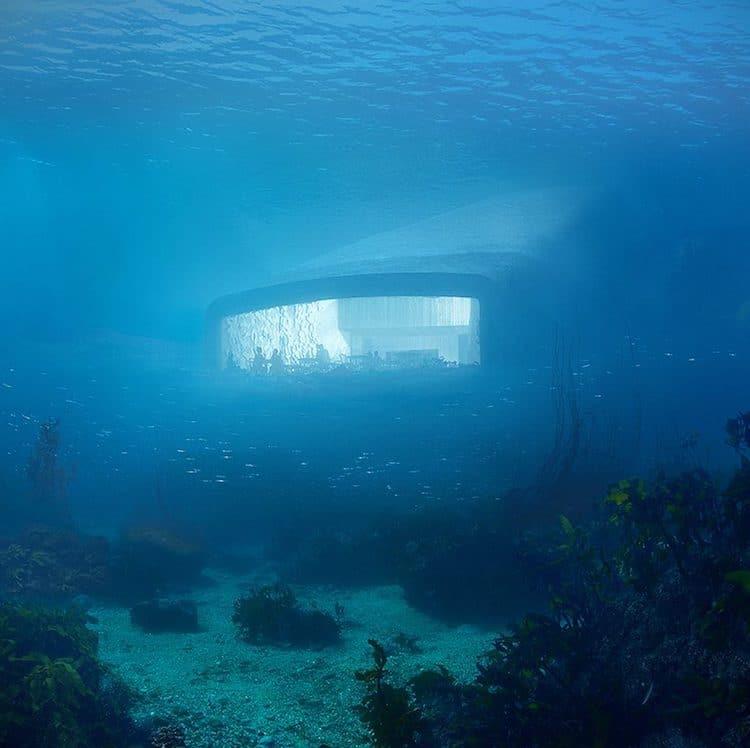 Underwater Restaurant Norway snøhetta