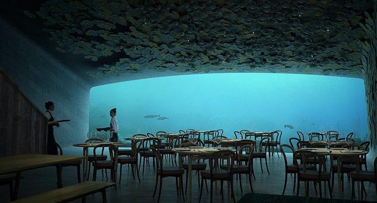 first underwater restaurant in europe