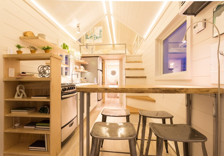 Tiny Mobile Home by Olive Nest