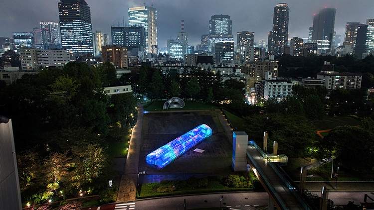 Tokyo Digital Vegetable Greenhouse by Party