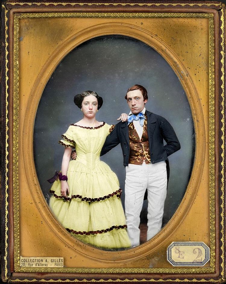 Vintage Portraits in Color by Frédéric Duriez