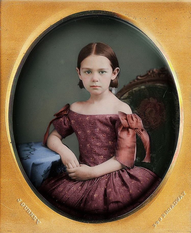 Vintage Portraits in Color by Frédéric Duriez